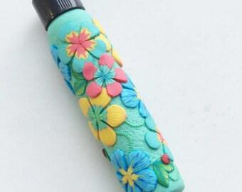Aqua Needlecase for Quilter, Gift for Gramma, Gift for Grandma, Gift Under 20 Dollars, Stocking Stuffer