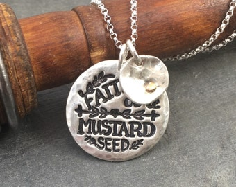Faith of a Mustard Seed - Pure Silver Necklace