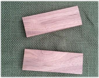 Black Walnut handle scales/slabs, set of 2