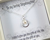 Step Daughter  Gift - Gift Boxed Jewelry Thank You Gift