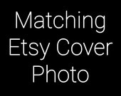 Etsy Cover Photo - Etsy Shop Cover Banner - Etsy Cover Banner - Made To Match Etsy Cover Photo