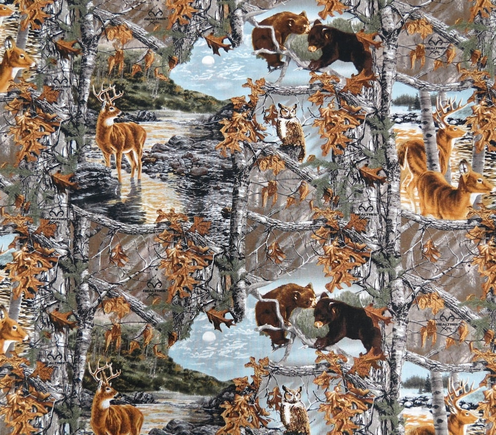 Realtree Camo Fabric By The Yard 100 Cotton Fabric
