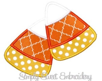 Halloween Candy Corn Applique 2 Design
