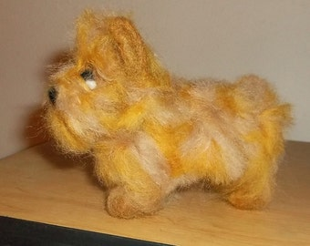 Cairn Terrier tiny felted figure