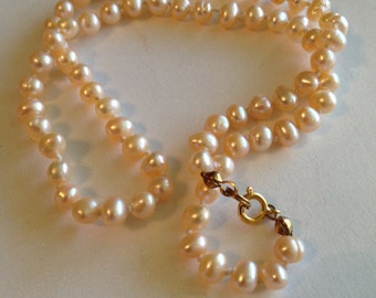 Freshwater Pearl Necklace 18""