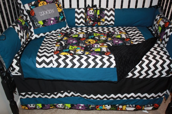5pc Nightmare Before Christmas Character Bedding by bedbugscreations