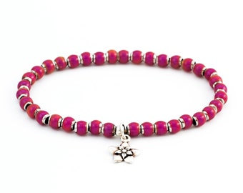 In the Mood Bracelet with Star Jasmin Blossom Charm