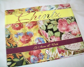 Chintz Ceramics Book, Reference, Jo Anne Welsh, 1996, chintz