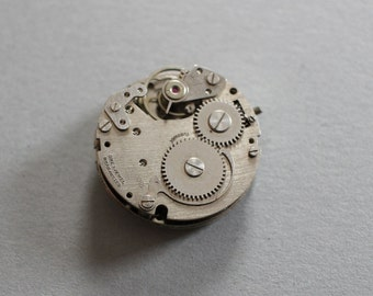 Vintage Endura Watch Dial And Movement
