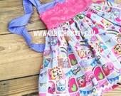 Shopkins Dress Birthday Costume Vacation Twirly Princess Everyday