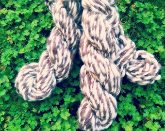 Heritage Lite Bulky Organic Handspun Lamb's Wool Yarn