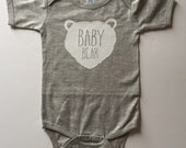 Baby Bear Tee - Available in various colors and Sizes