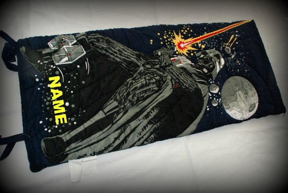 Pottery Barn Darth Vader Star Wars Sleeping Bag By