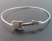 Guitar Bracelet, Guitar Jewelry, Rocker Bracelet, Rocker Jewelry, Rocker Chic, Music Bracelet, Country Girl Jewelry, Country Jewelry