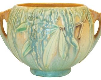 Roseville Pottery Moss Tan Bowl 289-4