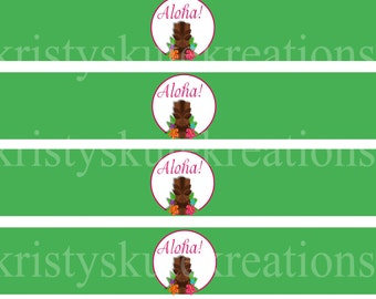 Aloha Napkin Rings -DIGITAL Check out the matching designs