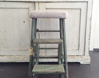 Victorian Folding Stepstool