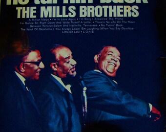 "BEAT BOXERS Human Hip Hop Music Mills Brothers Sealed MINT Vintage Vinyl ""No Turnin' Back"" 1920s Jazz Vocal Group 1971 Reissue Doug E Fresh"