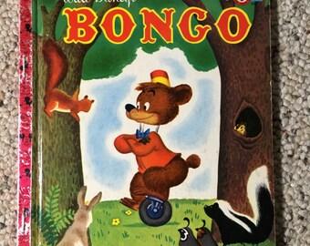 1948 Walt Disney's Bongo Little Golden Book Mickey Mouse Club Book