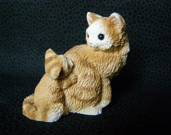 Stone Critter Littles Kitty Mother Baby SCL 179 Unitec Design Corp