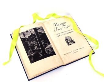 Norwegian Fairy Tales by Gert Strindberg London, Old Fairy Tale Book, Vintage Fairy Tales, Fairy Tale Wedding Decor, Blue Fairy Tale Book