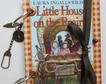 Up Cycled Little House on The Prairie Travel Journal -  Daily  Journal -  - Smash Journal