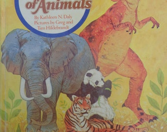 The Wonder of Animals A Golden Book by Kathleen Daly C-1976