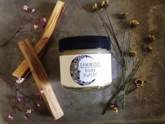 Organic Body Butter // Small // Organic