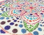Instant Download Printable Art. Mandala Sand Art.