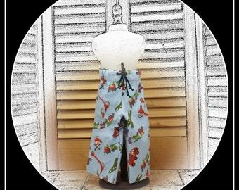 Boy Doll Flannel PJ Pants - Boy Doll Clothes for 18 Inch Dolls like American Girl, Magic Attic and Battat