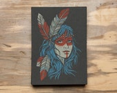 Native Feather -  Screen Print