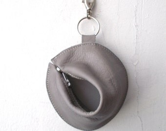 1+1 Fortune cookie wallet ,The Perfect Gift - Light gray