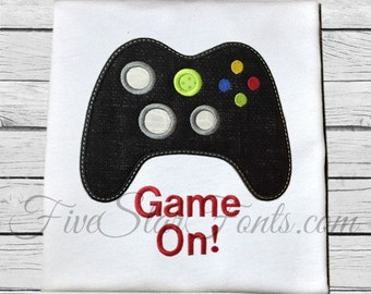 Game On Video Game Applique