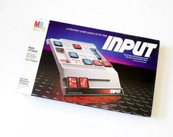 Vintage 1980s Game / Milton Bradley Input 1984 Complete VGC