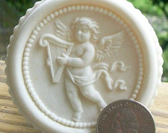 Small Menzen Cupid Springerle Cookie Mold