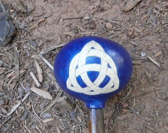 Shamans' Rattle - Celtic Knot - Free Shipping