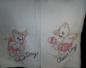 Old Fashion Tea Towels