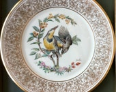 "Meadowlark 1973 Lenox Vintage Limited Edition ""Boehm"" Bird Plate"