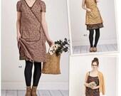 Dottie Angel Wrap Dress Pattern, Slip Dress Pattern, Simplicity Sewing Pattern 8186