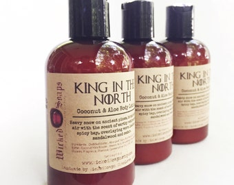 King in the North Body Lotion - Coconut Milk & Aloe Body Lotion with Cocoa Butter