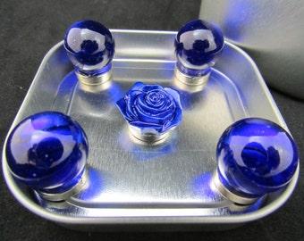 Strong fridge magnets, blue fridge magnets, glass marble magnets, rose magnets, neodymium magnets, graduation present 514
