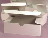 "Bulk Lot of 8 Gift Boxes 10"" x 4"" x 4"" for Wedding Favors, Bridesmaid Gifts, Glassware Gift Box"