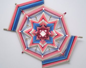 Love to Dance, a 24 inch, Ojo de Dios, by Apprentice Inga Savage
