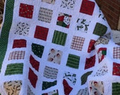 Country Christmas Lap Quilt