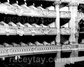 Opera House, Black and White Paris Photography, Baroque Architecture, Bedroom Wall Art, Paris Opera