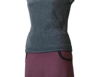 SALE Fleece hoodie Fleece vest Custom Sleeveless hoodie. Sleeveless shirt. Fleece hoodie. Womens top