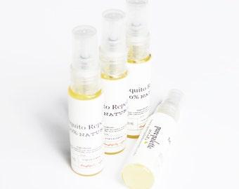 Bulk 20 Bottle Organic Bug Sprays - Mosquito Repellent / No Se Um Repellent - 100% Natural Ingredients - Travel Size Spray