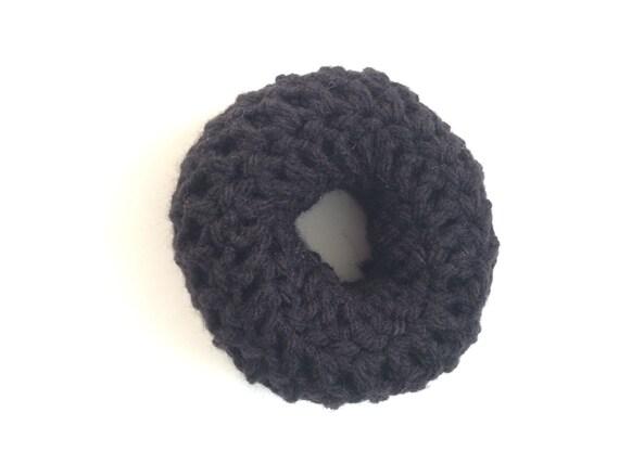 Strange Crochet Hair Donut Bun Maker 2 Sizes Small And Medium Donut Hairstyle Inspiration Daily Dogsangcom