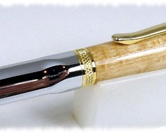 Beautiful Birdseye Maple on a Sierra Grip Twist Pen
