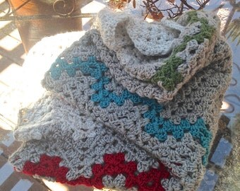Super Soft Crochet Granny Blanket